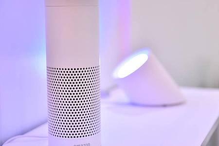 Amazon macht Alexa-Technik für fremde Sprachassistenten verfügbar. Foto: Britta Pedersen/dpa-Zentralbild/dpa