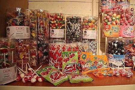 Bunte Mischung aus Süßigkeiten