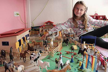 Pferdefiguren von Schleich