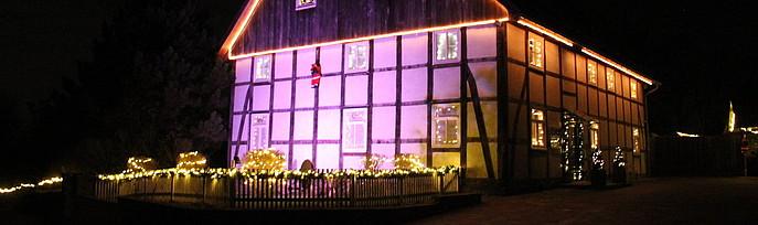 Weihnachtshaus Dörentrup