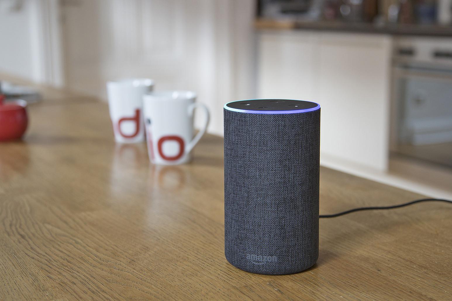Amazon Echo mit Alexa