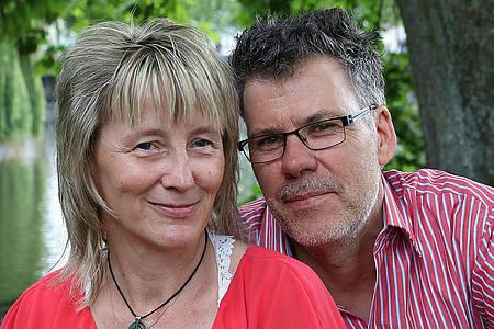 Natascha Weigl und ihr Lebenspartner