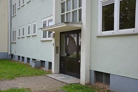 Eingangstür der ehemaligen Britensiedlung in Detmold