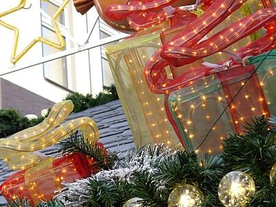 Dachbeleuchtung Weihnachten