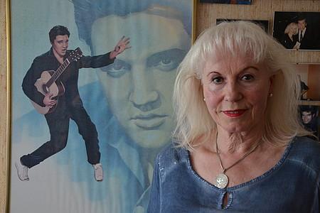 Elvis-Fan Rosi Dux ohne Verkleidung
