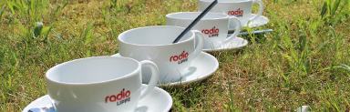 Vier Radio Lippe Tassen