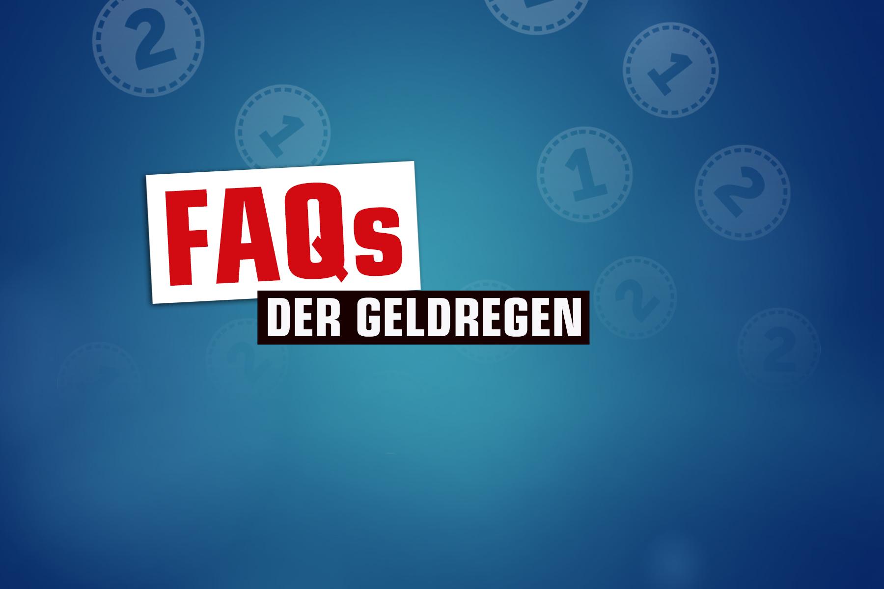 Geldregen-FAQ-2021